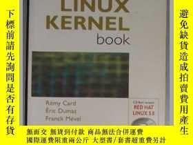 二手書博民逛書店英文原版罕見The Linux Kernel Book by R