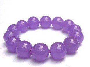 水晶紫玉髓12MM 流行手鏈