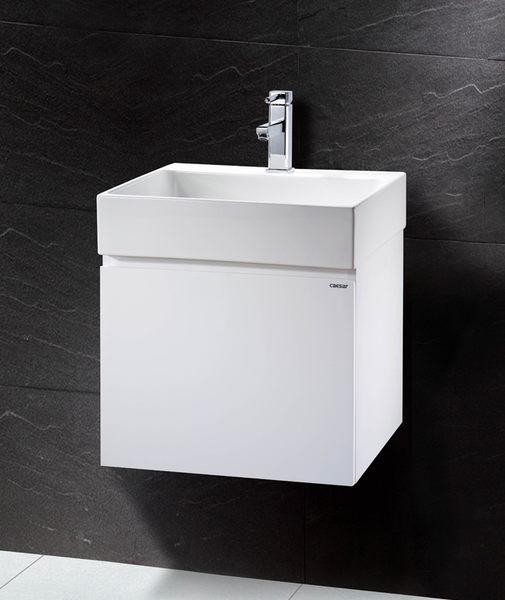 《修易生活館》 凱撒衛浴 CAESAR 面盆浴櫃組系列 檯面上立體盆 LF5253 A 單門浴櫃 EH152 (不含龍頭)