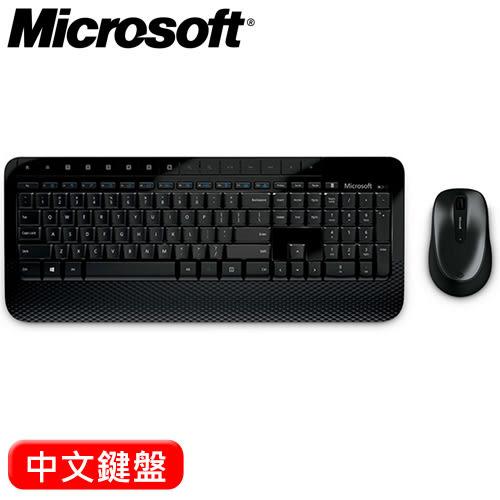 Microsoft 微軟 2000 2.4G無線鍵盤滑鼠組 中文