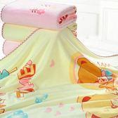 寶寶浴巾嬰兒浴巾新生兒比棉紗布吸水兒童洗澡蓋毯大毛巾被子【四季生活館】