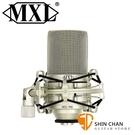 【缺貨】美國品牌 MXL 990 大震膜 電容式麥克風 心形指向【內含避震架/轉接頭/攜行箱】