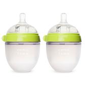 comotomo 矽膠奶瓶二入150ML(綠色)