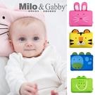Milo & Gabby 動物好朋友-超涼感排汗抗菌黑米枕頭(含枕心)[衛立兒生活館]
