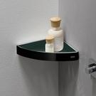 【麗室衛浴】EMCO 0545.133.03 Loft 黑色三角置物籃