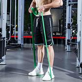 瑜珈輔助帶 健身 重訓 乳膠圈 訓練 高彈力 肌力 伸展 多功能 拉力帶(綠)【S003】慢思行