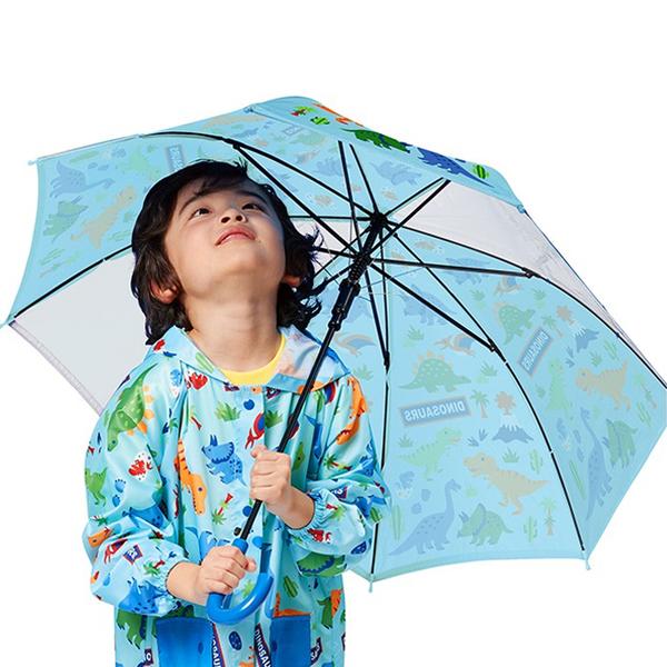 Skater 兒童雨傘 (9款) 藝術插畫透明雨傘 安全雨傘 摺疊傘 7465 雨具