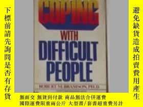 二手書博民逛書店英文原版罕見Coping with Difficult Peop