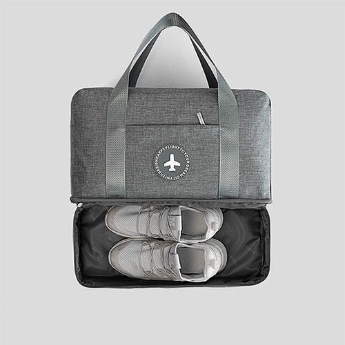 手提乾濕分離旅行衣物收納袋 整理袋手提袋