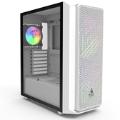 MONTECH AIR X 強化玻璃側板 ATX 電腦機殼 白色