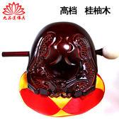 木魚 台灣木魚道教法器佛教用品香樟木桂柚木小木魚魚雕龍雕配棉墊