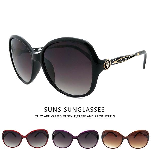 玫瑰雕花鑲鑽淑女墨鏡 精緻高雅太陽眼鏡 超高品質 顯小臉淑女墨鏡 時尚流行 物超所值 抗UV400