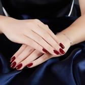 酒紅色指甲油持久顯白可剝無毒防水持久不掉色車厘子姨媽紅指甲油【特價】