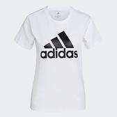 Adidas Essentials 女款 白色 CORE/NEO 訓練 跑步 短袖上衣 GL0649 【KAORACER】