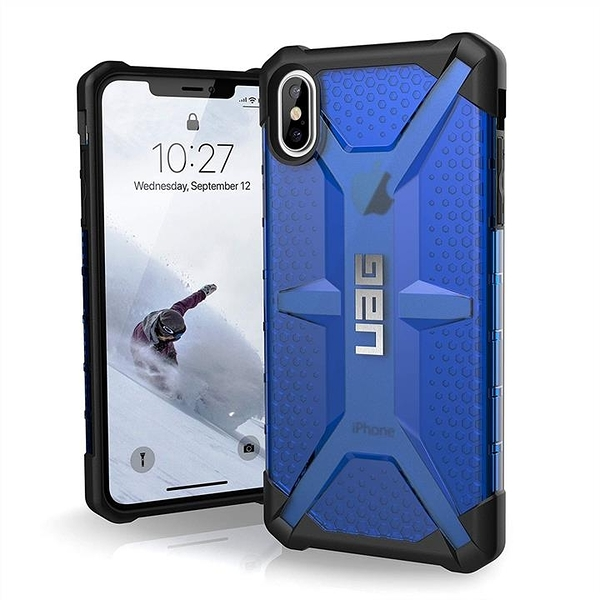 【美國代購】UAG iPhone Xs Max 6.5寸 等離子輕薄堅固 軍用防摔iPhone外殼 Cobalt