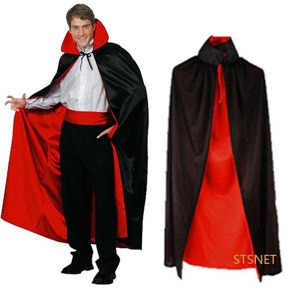 大人披風成人斗篷吸血鬼紅黑大披風萬聖節化妝表演舞會派對造型角色扮演服裝道具