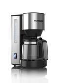 咖啡機 HOMEZEST/漢姆斯特 咖啡機家用全自動滴漏美式小型煮咖啡壺泡茶機 夢藝