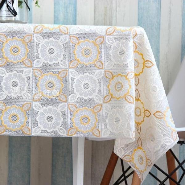 桌巾正方形桌布防水防燙防油麻將桌四方桌八仙桌餐桌臺布塑料免洗布藝 快速出貨