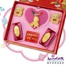 999.9黃金彌月音樂禮盒 快樂寶貝三件組0.2錢-GP00021-25-FIX