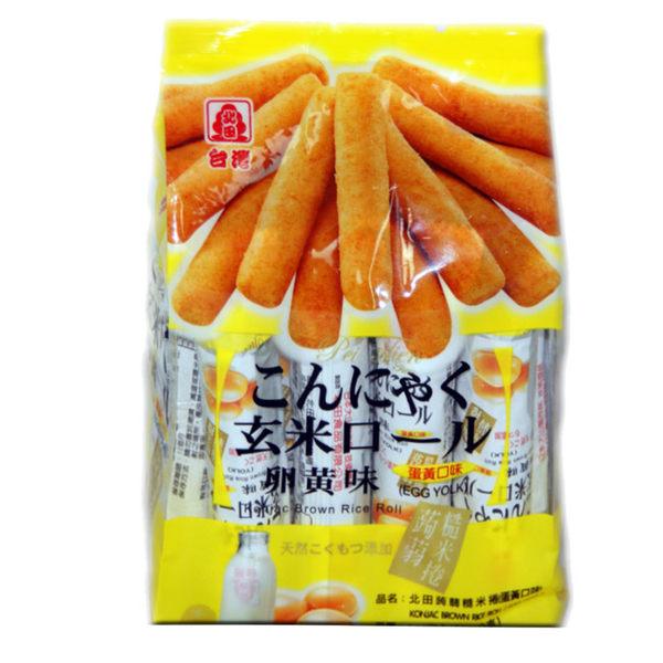 北田蒟蒻糙米捲-蛋黃口味