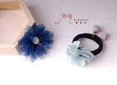 蜜諾菈Minerva‧現貨‧專屬設計柔美雪紡花髮夾髪束套組‧編號00435