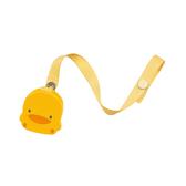 PiYo黃色小鴨-造型奶嘴鍊(830038)[衛立兒生活館]