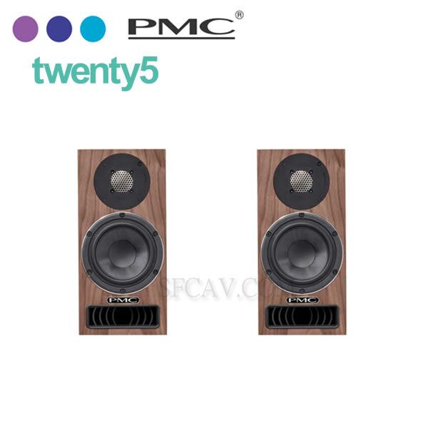 【新竹音響勝豐群】PMC  twenty5.21  胡桃木/書架型喇叭(不含腳架) 另售 twenty.21 黑梣木
