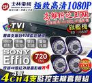 【台灣安防】監視器 1080P 士林電機...