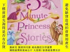 二手書博民逛書店5—Minute罕見Princess Stories(英文版)Y
