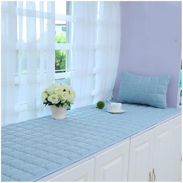 防滑飄窗墊窗台墊加厚亞麻陽台墊四季通用榻榻米墊子床墊坐墊定做ATF 艾瑞斯居家生活