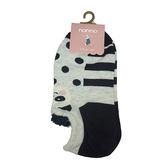 non-no儂儂褲襪《16入》前耳朵造型動物襪-熊貓-27259-1
