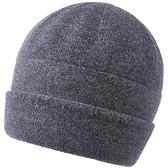 羊毛毛帽-簡約純色毛線休閒男針織帽6色73wj14[時尚巴黎]