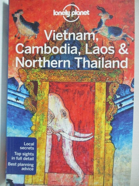 【書寶二手書T1/旅遊_H56】Lonely Planet Vietnam, Cambodia, Laos & Northern Thailand