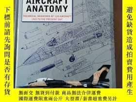 二手書博民逛書店Modern罕見Military Aircraft Anatomy: Technical Drawings of