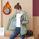 日系外套~6880# 外套女加絨加厚寬松...