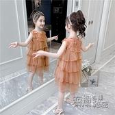 女童夏裝裙子新款兒童洋裝童裝洋氣網紅大童女孩公主蛋糕裙 衣櫥秘密