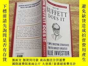 二手書博民逛書店英文原版罕見How Buffett Does It : 24 Simple Investing Strategie
