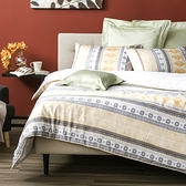 HOLA 瑪拉天絲床包兩用被組 雙人
