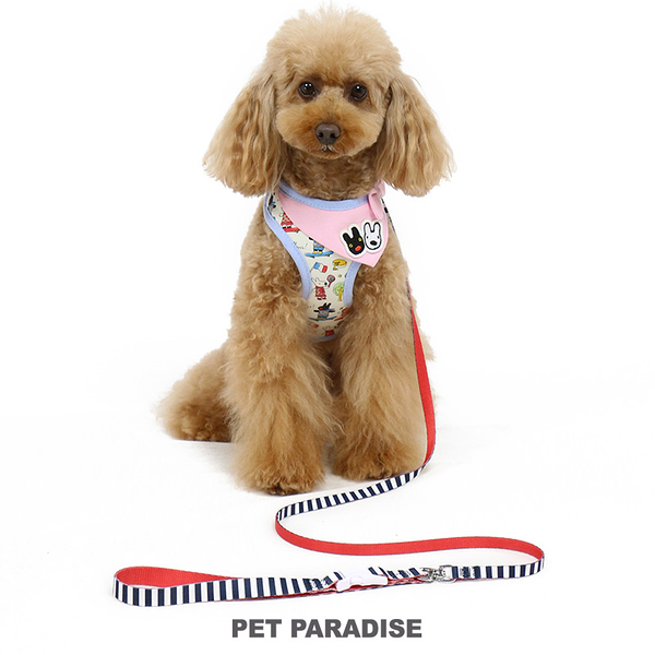 【PET PARADISE 寵物精品】 Gaspard et Lisa 領巾一體成型胸背帶【S】 寵物胸背帶