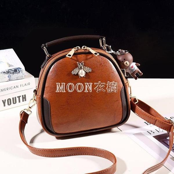 女包小包包2020新款韓版蜜蜂包百搭手提包單肩斜背包網紅女包 SUPER SALE 交換禮物