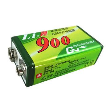 GN 9V 可充式鋰電池 700mAh 日本電池芯 BSMI認證 【聖影數位】