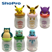 【日本正版】寶可夢 糖果罐 透明糖果罐 收納罐 425492 425508 425515 425522 425683 425706
