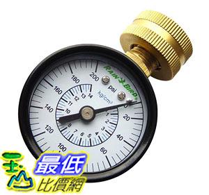 [104美國直購] 壓力錶 Rain Bird P2A Pressure Gauge