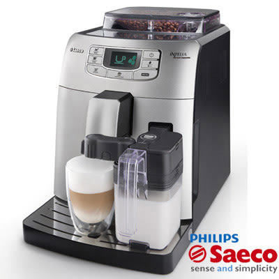 PHILIPS飛利浦 Saeco Intelia Cappuccino 全自動義式咖啡機 HD8753 贈送咖啡豆+奶泡器