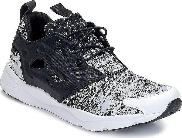 REEBOK FURYLITE JF 男鞋 慢跑 休閒 雪花 潑墨 限定款 黑 白【運動世界】V69500