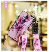 OPPO Reno 手機殼 復古 文藝系列 彩繪 碎花 保護套 水鑽邊鑽 腕帶支架 軟殼 矽膠套