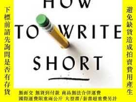 二手書博民逛書店How罕見To Write Short: Word Craft