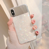 補妝鏡貝殼紋8plus/7p/6蘋果x手機殼XS Max/XR/iPhoneX女iphone6s