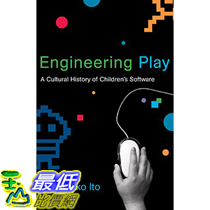 [106美國直購] 2017美國暢銷兒童書 Engineering Play: A Cultural History of Children s Software