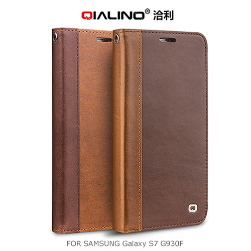 摩比小兔~ QIALINO 洽利 SAMSUNG Galaxy S7 G930F / S7 Edge G935F 西部牛仔皮套
